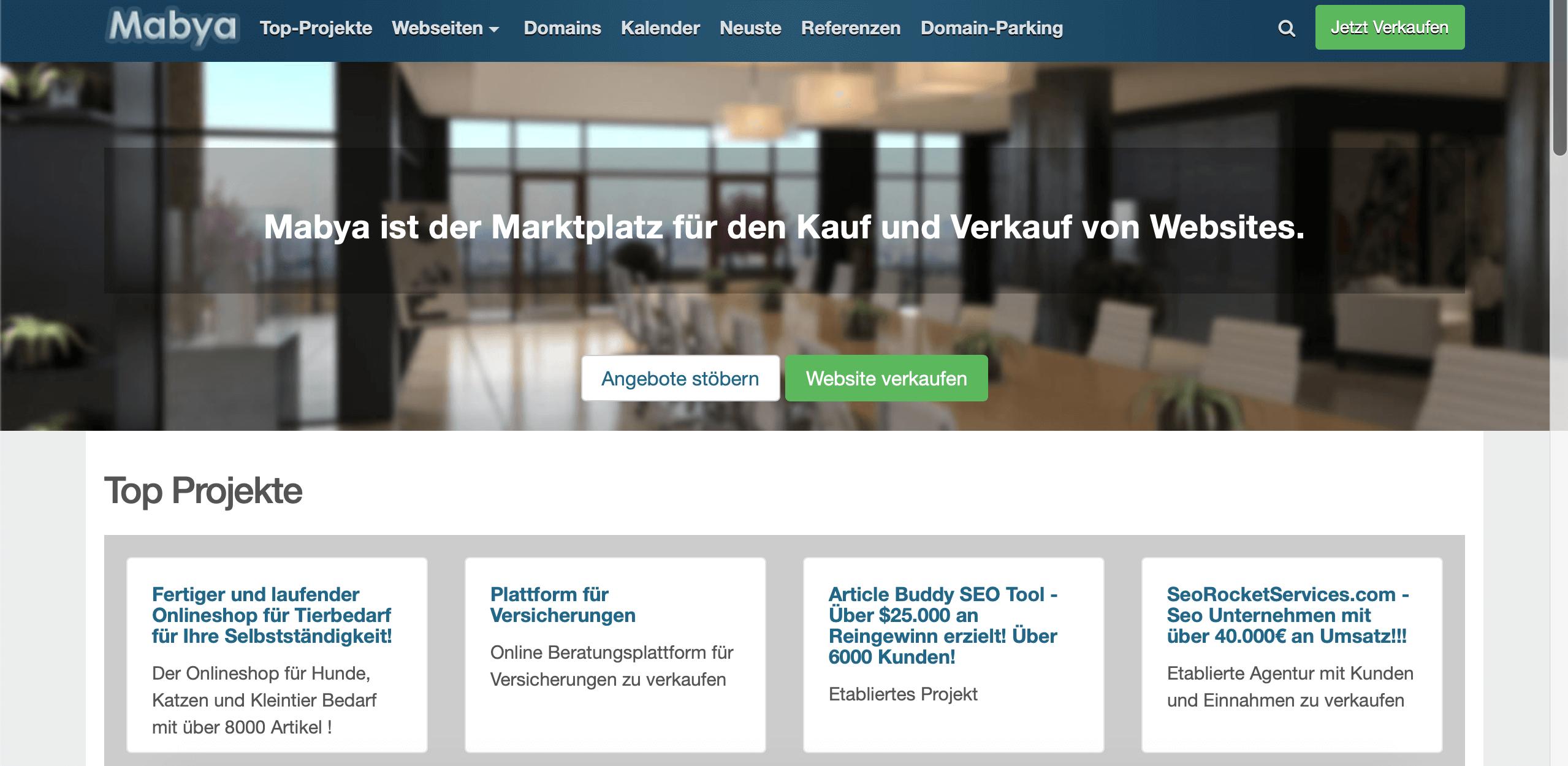 Blog verkaufen