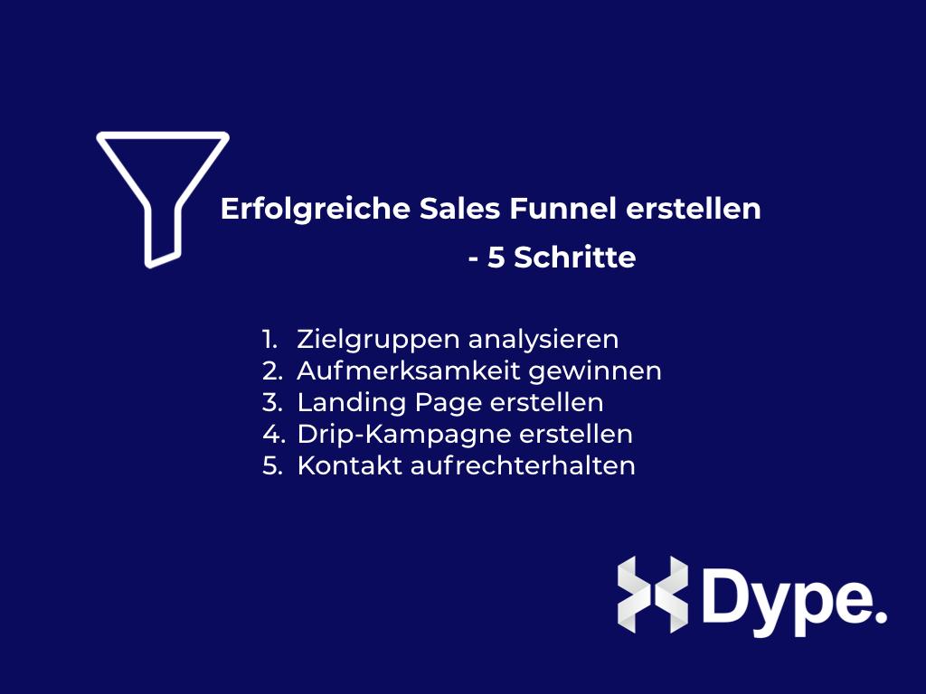 Sales Tunnel erstellen Tipps